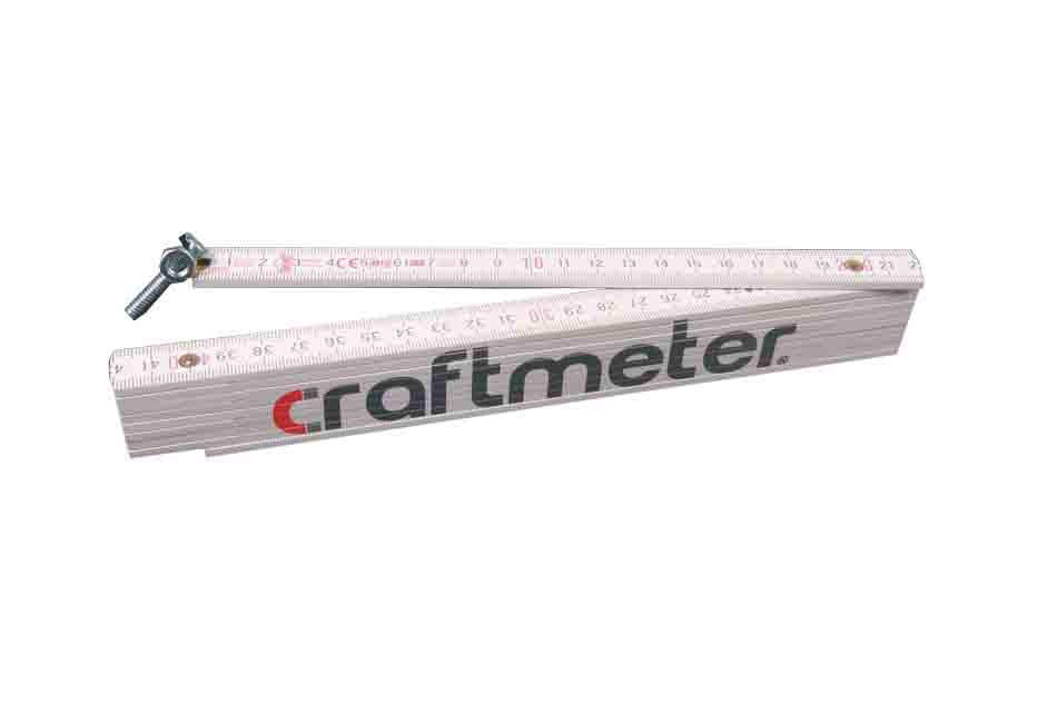 Vouwmeter full color met magneet